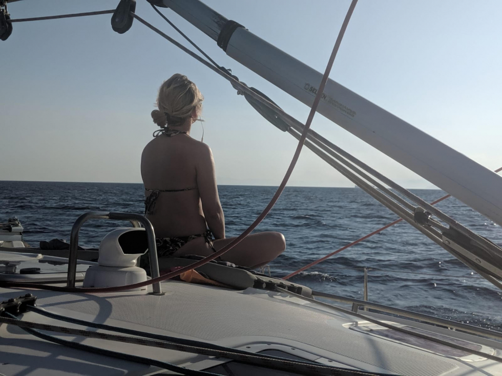Yoga and Sailing